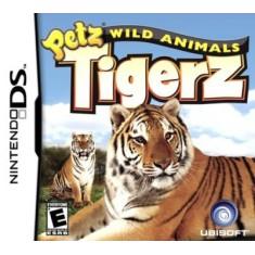 Jogo Petz Wild Animals Tigerz Ubisoft Nintendo DS