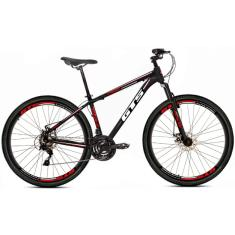 Bicicleta GTS 21 Marchas Aro 26 Suspensão Dianteira Feel