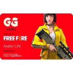 Imagem de Gift Card Digital Free Fire e outros jogos – GG Credits R$50