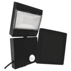 Imagem de Refletor Solar LED Holofote com Placa Solar e Sensor de Presença