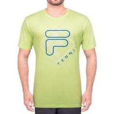 Imagem de Camiseta Fila Biella Verde Limão