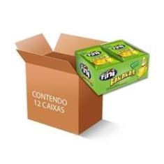 Imagem de Bala Fini Bananas contendo 12 caixas