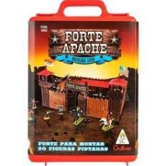 Imagem de Forte Apache Batalha De Luxo Maleta C/20 Figuras Pintadas - Gulliver