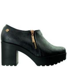 Imagem de Ankle Boot Feminina Moleca Napa