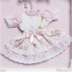 Imagem de Quadro Com Acrílico Menina Vestido No Cabide Quarto Bebê Infantil Menina