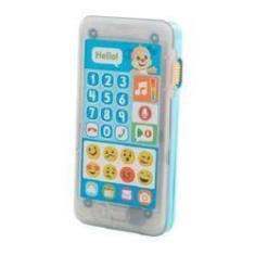 Imagem de Fisher Price Telefone Emojis Aprender E Brincar Cachorrinho Mattel Fhj18