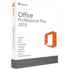 Pacote Office Professional Plus 2019