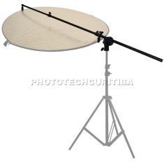 Imagem de Suporte Para Rebatedor Fotográfico Oval Circular Triangular PK-BA1 Greika