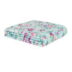 Imagem de Cobertor de Casal Estampado Microfibra Sultan 180grs 1,80 x 2,00 mts  Floral