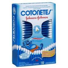 Imagem de Hastes Flexíveis Cotonetes Caixa com 150 Unidades