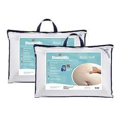 Imagem de Kit 2 Travesseiros 100% Látex Natural Basic Soft 50x70cm - Dunlopillo