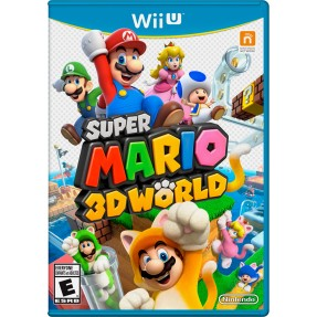 Jogo Super Mario 3D World Wii U Nintendo