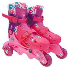 Patins 3 rodas Barbie Fun