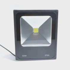 Imagem de Refletor Led 50w Branco Frio 5600 Lumens Frio Prova Dagua