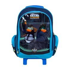 Imagem de Mochila com Rodinhas Escolar Dermiwil Club Penguin 51422 G