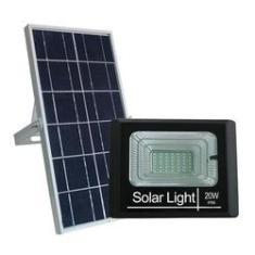 Imagem de Refletor Holofote 20w Placa Solar Fotovoltaica T-20