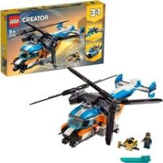 Imagem de Lego Creator 3 em 1 Veiculo Helicoptero Duas Helices 31096