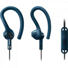 Fone de Ouvido com Microfone Philips SHQ1405 Gerenciamento chamadas Academia