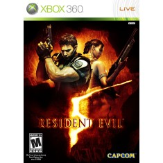 Jogo Resident Evil 5 Xbox 360 Capcom