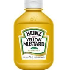 Mostarda  255g 1 UN Heinz