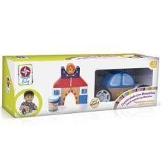 Imagem de Brinquedo Construindo com Bloquinhos Policia da Estrela Baby