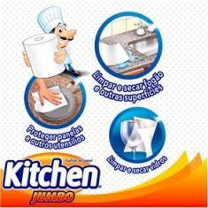 Imagem de Toalhas de Papel Kitchen Jumbo - 18 unidades