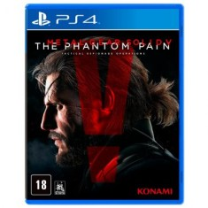 Jogo Metal Gear Solid V The Phantom Pain PS4 Konami