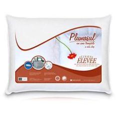 Imagem de Travesseiro 50% Pena e 50% Fibra - Percal 233 Fios - Plumasul