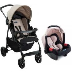 Imagem de Carrinho de Bebê Travel System com Bebê Conforto Burigotto Ecco