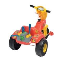 Imagem de Triciclo com Pedal Magic Toys Tico-Tico Mecânico