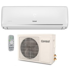Ar-Condicionado Split Hi Wall Consul 9000 BTUs Inverter Controle Remoto Quente/Frio CBJ09DB / CBM09DB