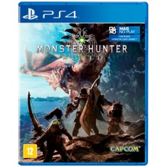 Jogo Monster Hunter World PS4 Capcom