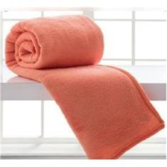 Imagem de Manta Cobertor Soft Solteiro Plush Anti Alérgico - Rosê