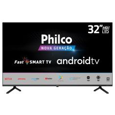 "Smart TV LED 32"" Philco PTV32E20AGBL 2 HDMI USB"