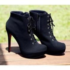 Imagem de Ankle Boot Numeração Especial Nobuck  DME1774156