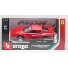 Imagem de Ferrari 512 TR - Race & Play - Box - 1/43 - Bburago