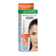 Protetor Solar Facial Isdin Fusion Water Oil Control FPS60 com 50ml 50ml