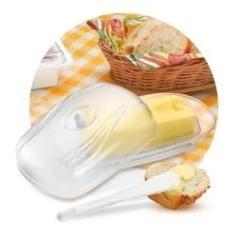 Imagem de Mantegueira Com Espátula Acrílico Porta Margarina Manteiga