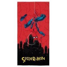 Imagem de Toalha De Banho Infantil Aveludada Homem Aranha Spider Man Lepper