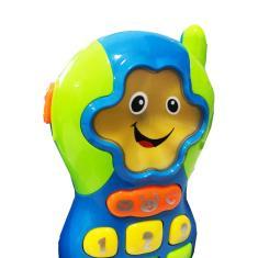 Imagem de Brinquedo Celular Musical Divertido Baby - Wellmix