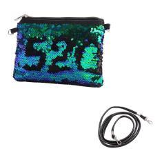 Imagem de Lantejoula senhoras bolsa Feminino Totes Messenger Bag Confortavel Ombro Mulheres Bolsa Bag