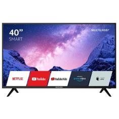 """Smart TV LED 40"""" Multilaser Full HD TL035 HDMI USB"""