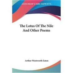 Imagem de The Lotus Of The Nile And Other Poems