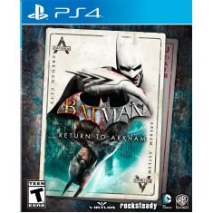 Jogo Batman Return to Arkham PS4 Warner Bros