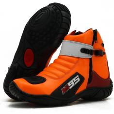 Imagem de Bota Atron Shoes As95 Laranja//