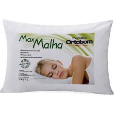 Imagem de Travesseiro Max Malha 100% Algodão 50x70cm - Ortobom
