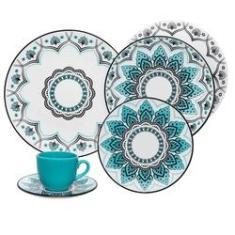 Imagem de Aparelho Jantar e Chá 30 Peças Coup Serene Oxford Porcelanas