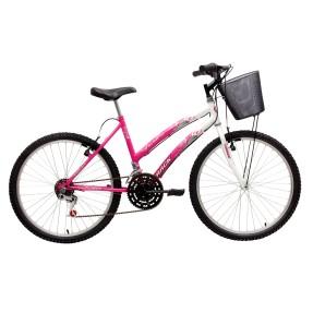 Bicicleta Track & Bikes 18 Marchas Aro 24 Freio V-Brake Parati