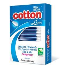 Imagem de Hastes Flexíveis Cotton Line 150 Unidades - Higgie Top