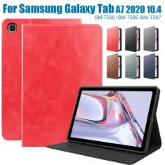 Imagem de 2020 New Smart Case para Samsung Galaxy Tab A7 2020 SM-T500 SM-T505 SM-T507 10.4 polegadas Auto Acordar / Sleep Tablet Capa capa